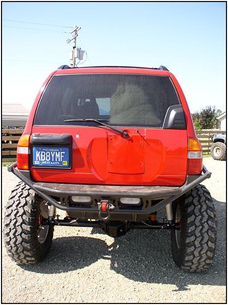 Big Tracks 2004 Chevy Tracker Solid Axle Conversion