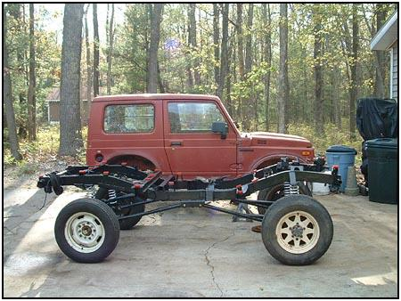 suzuki samurai chassis pictures to pin on pinterest